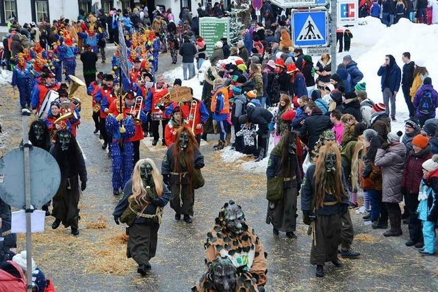 Fotos: Die Bergteufel feiern in Oberprechtal