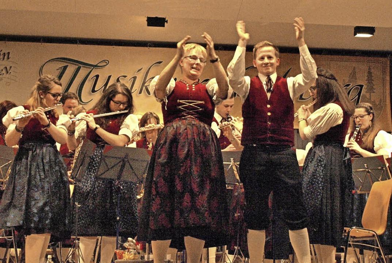 Für gute Stimmung will der Musikverein...uch ihr 175-jähriges Bestehen feiern.   | Foto: kss