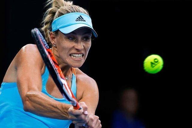 Angelique Kerber quält sich in Melbourne in Runde zwei