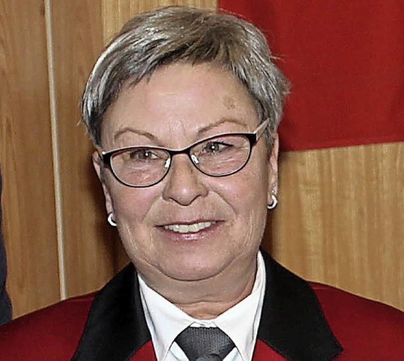 Silvia Meier wurde geehrt.  | Foto: Mario Schöneberg