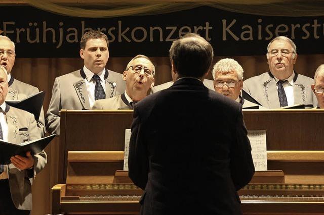 """Dreitägiges Sängertreffen in Amoltern wird zum """"Chorfestival"""""""