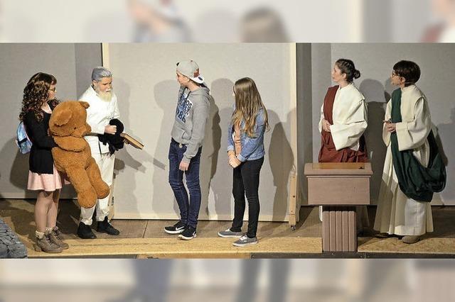 Ministranten überzeugen mit Hilarius-Musical in Bleichheim