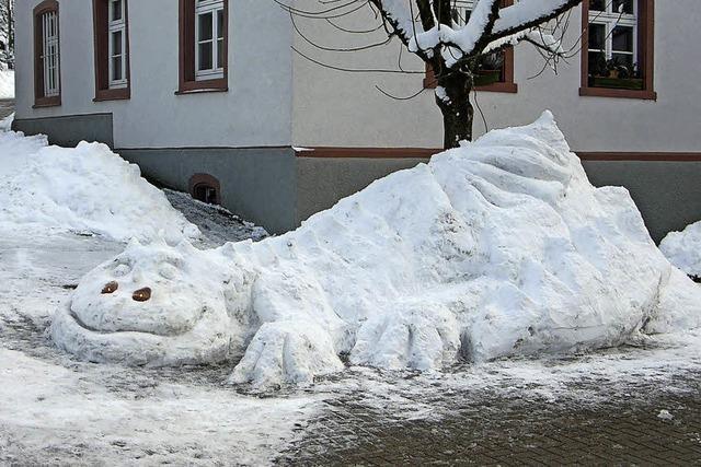 Eiskalter Drache