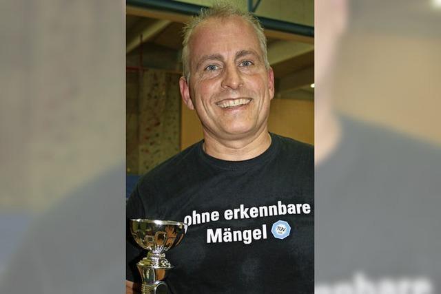 Tischtennisclub ermittelt seine besten Spieler