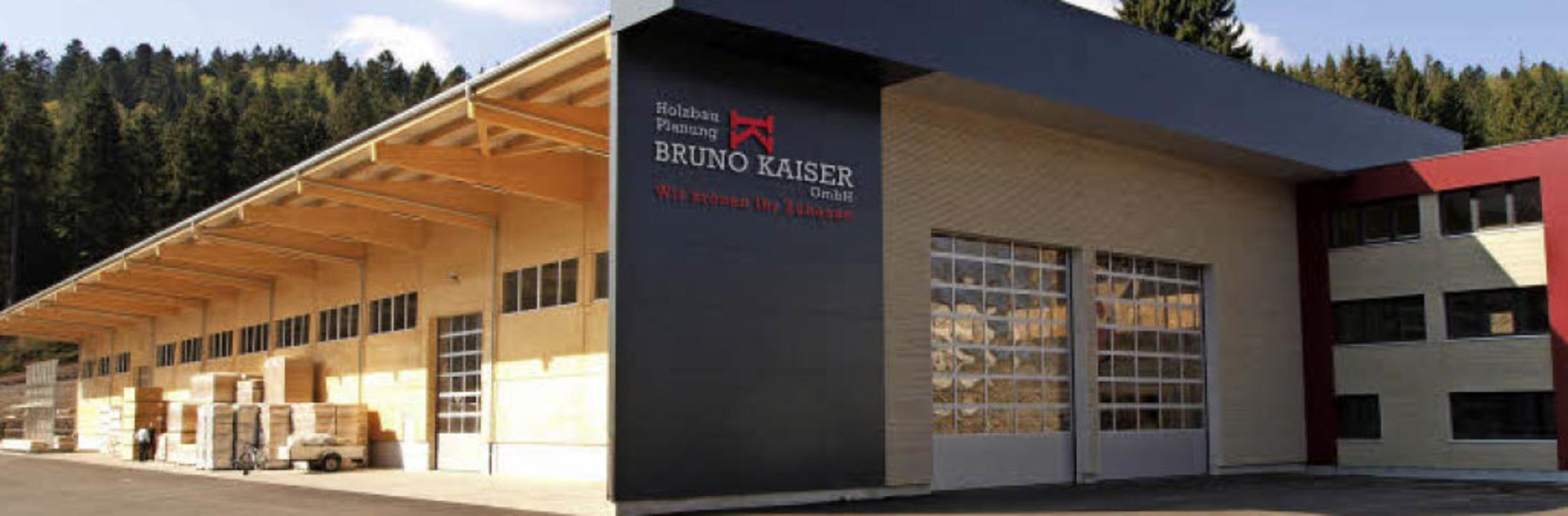 Die neue Produktionshalle des Unternehmens.   | Foto: Bruno Kaiser GmbH