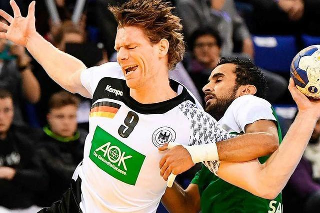 Deutsche Handballer stehen im WM-Achtelfinale