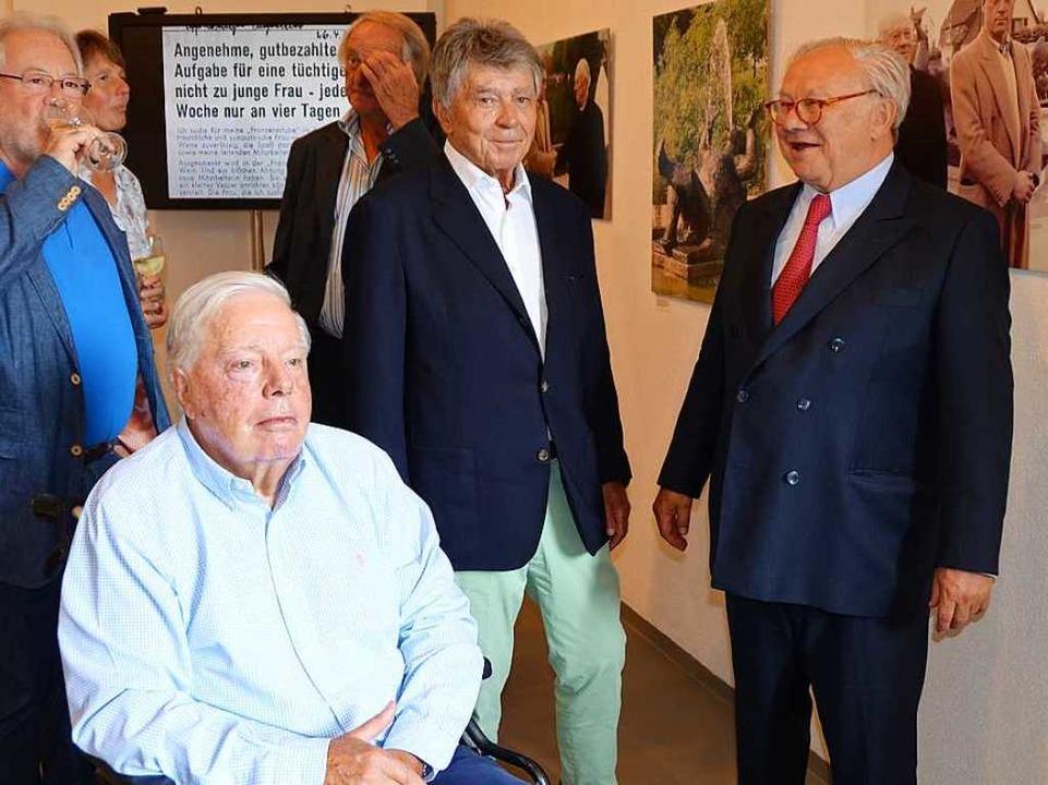 Anlässlich einer Ausstellung zu Ehren ...ahren wieder gemeinsam öffentlich auf.  | Foto: Ralf Burgmaier