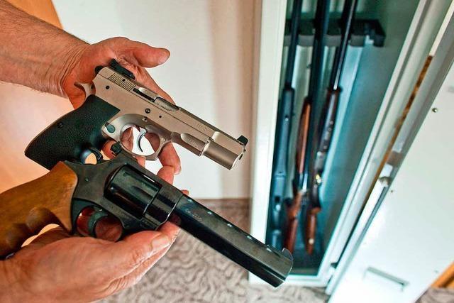 Die meisten Lahrer Waffenbesitzer verhalten sich korrekt