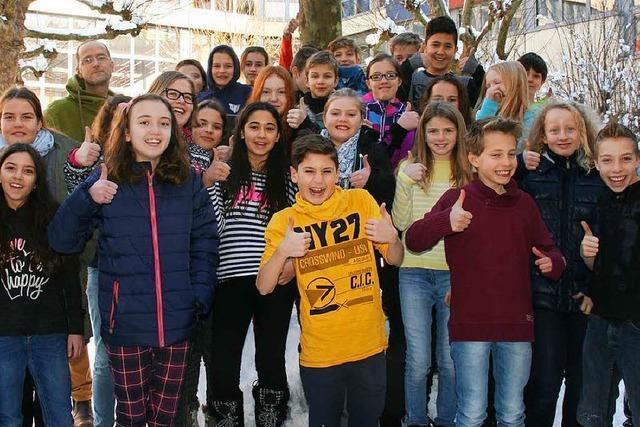 Schopfheim: THG-Klasse kommt ins Fernsehen