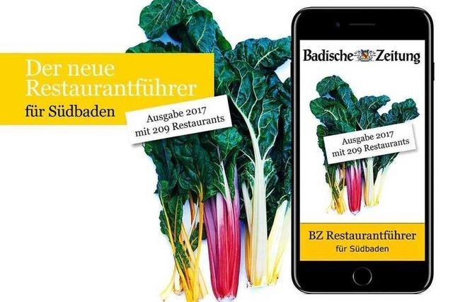 Den neuen BZ-Restaurantführer 2017 gibt es jetzt als App