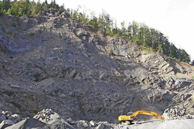 Der Steinbruch soll erweitert werden