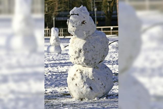Zum Welttag des Schneemanns