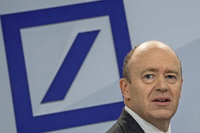 Bei der Deutschen Bank müssen jetzt auch die Investmentbanker in New York und London verzichten