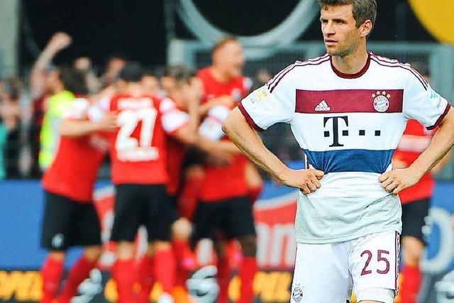 Wie der SC Freiburg die Übermannschaft Bayern bespielen sollte