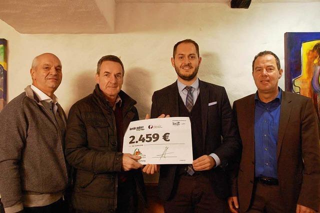 2459 Euro für BZ-Aktion