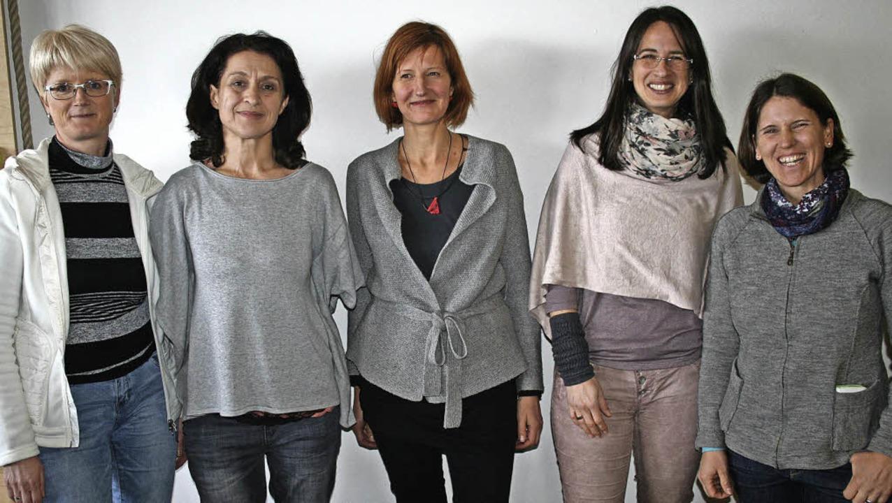 Dem neu formierten Vorstand des Schulf...) und Ina Eckert-Steiert (Beisitzerin)  | Foto: DIETER MAURER