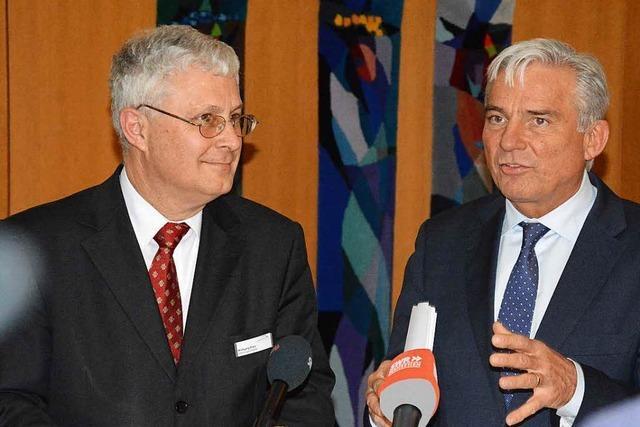 Innenminister Strobl bringt gute Nachrichten nach Weil
