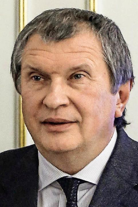 Igor Setschin, hier auf einem Foto aus dem Jahr 2012   | Foto: AFP