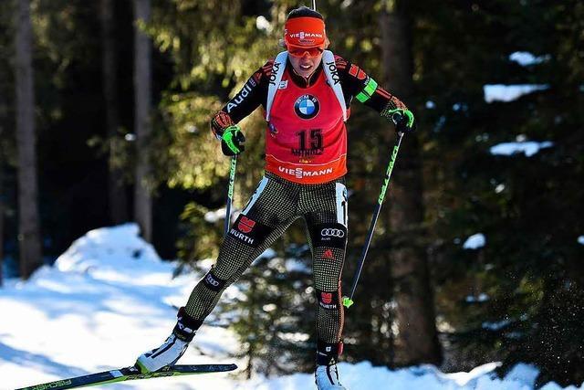 Laura Dahlmeier gewinnt Einzelrennen in Antholz