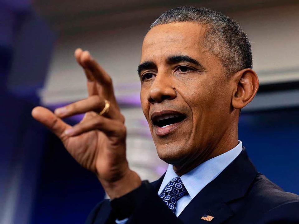 Barack Obama  | Foto: AFP