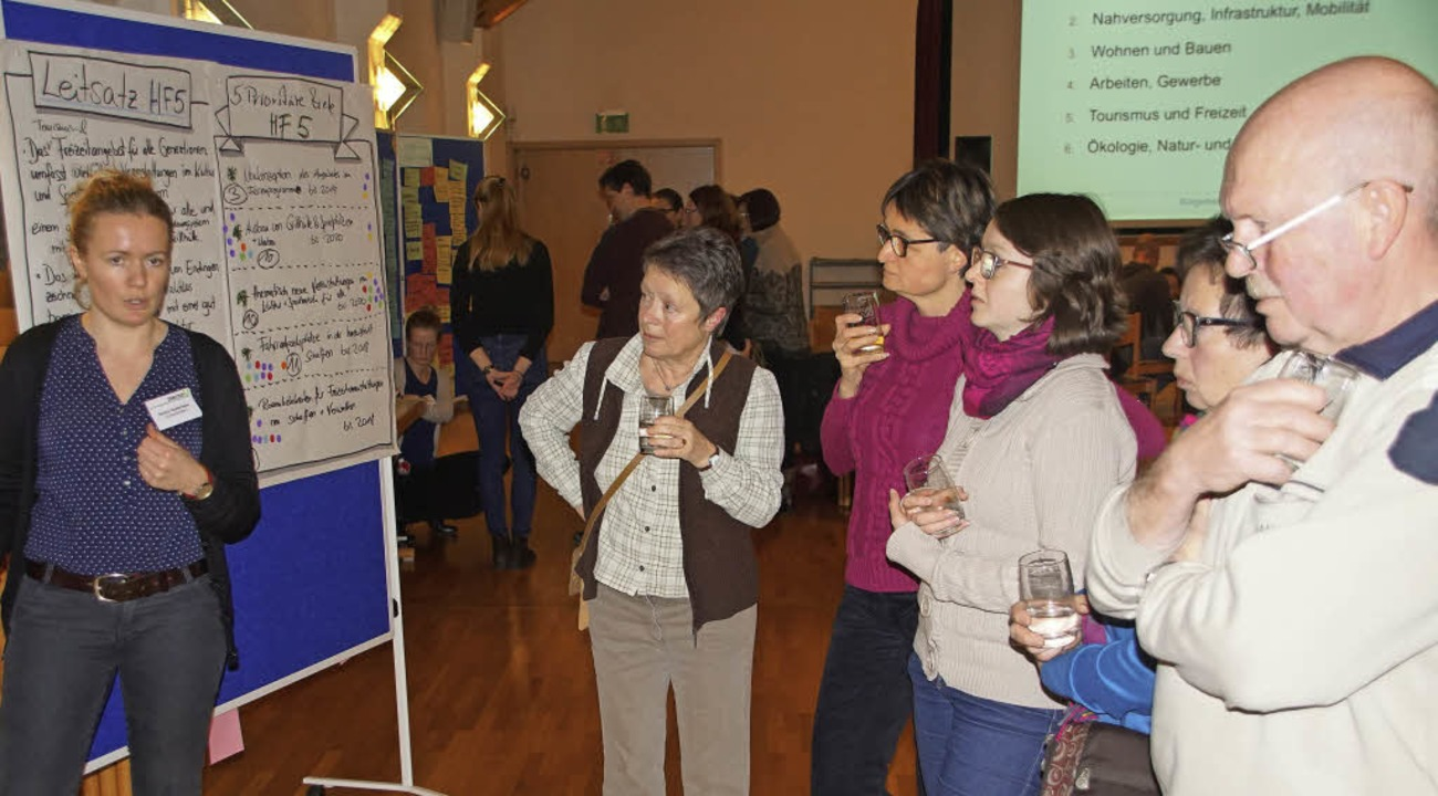 Bürgercafé zum Gemeindeentwicklungskon... mit einer Punktevergabe neu bewertet.    Foto: Ilona Hüge