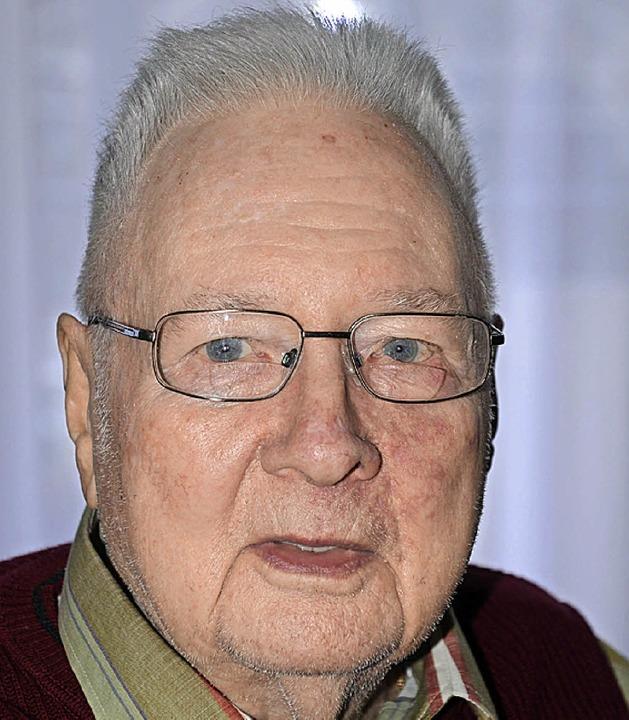 Endingen. Jubilar  Dieter Sewig.  | Foto: Roland Vitt