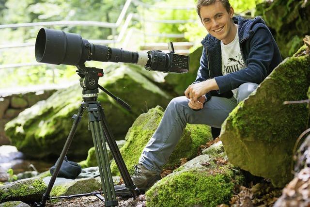 Auszeichnung für jungen, aufstrebenden Fotografen