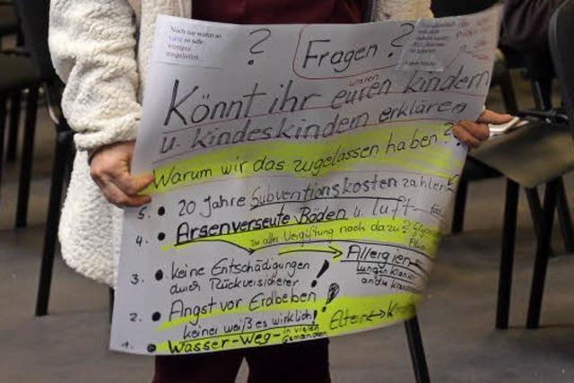 Arsen, Feinstaub, Lärm: Diskussion um Atdorf-Immissionen