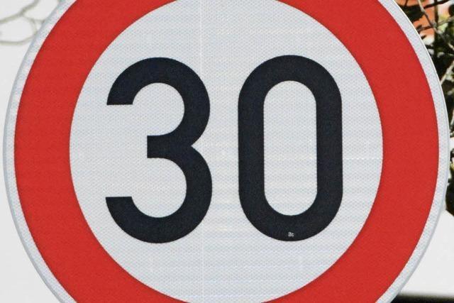 Tempo 30 in Haltingen: Jeder Dritte ist zu schnell
