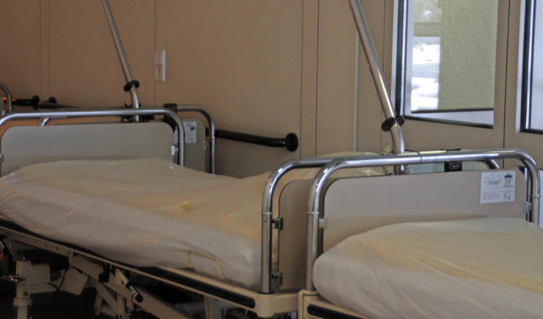 Leere Krankenhausbetten – ein wirtschaftliches Problem   | Foto: Kerckhoff