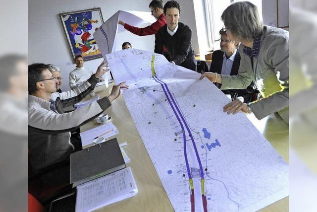Baubürgermeister sichert Grünen zu, dass mit dem Stadttunnel die B31 verkehrsberuhigt wird