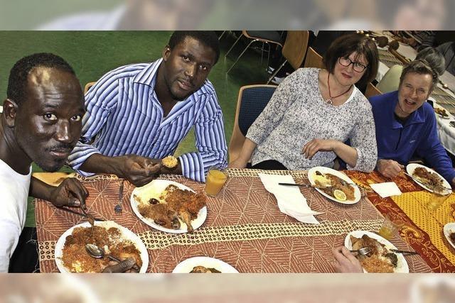 Junge Gambier machen sich Sorgen um ihre Heimat
