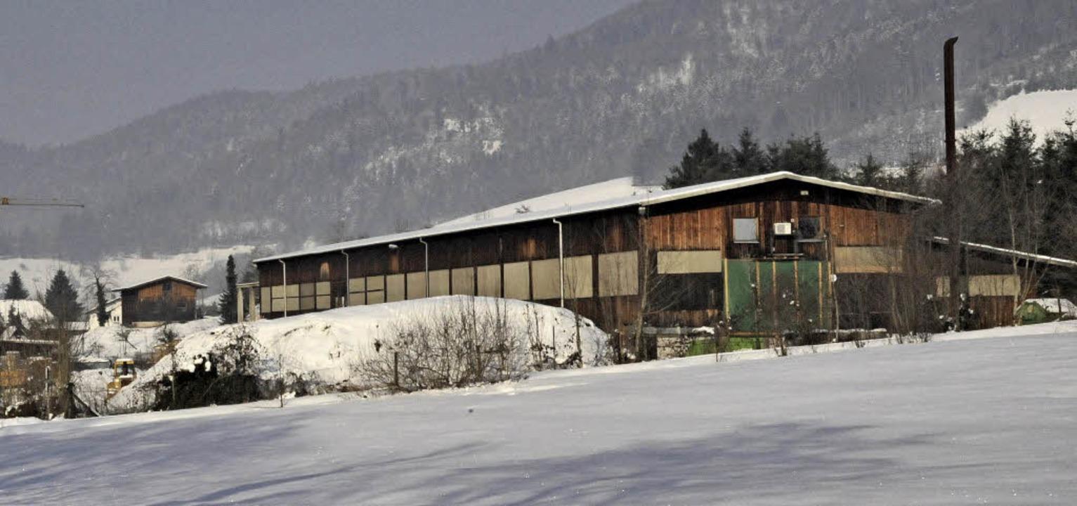 Das Areal des ehemaligen Sägewerks Gsc...genutzt, was nun ein Ende haben dürfte    Foto: Markus Zimmermann