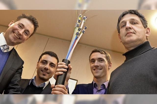 Glasfaserkabel ermöglicht endlich schnelles Internet in Gundelfingen