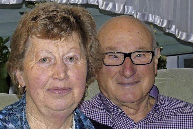 Auf den Tag genau 50 Jahre verheiratet
