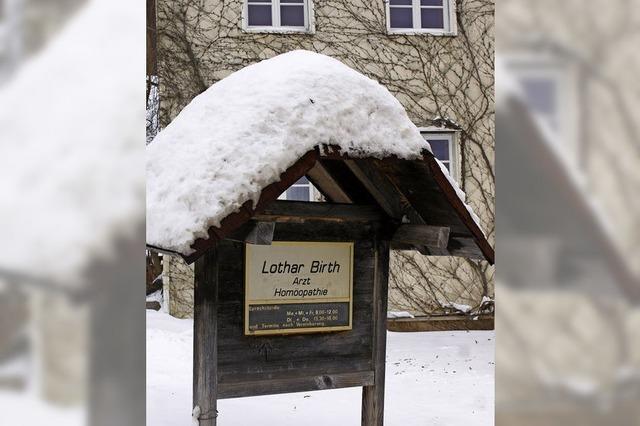 Lothar Birth gibt Kassenzulassung zurück