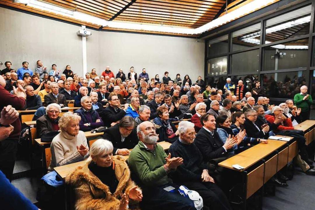 Streitgespräch in der Universität  | Foto: Miroslav Dakov