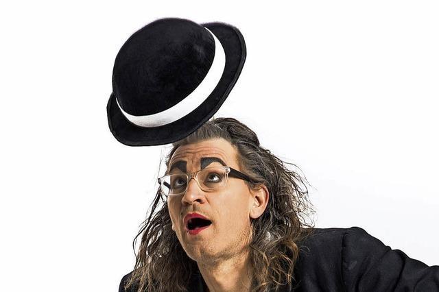 Der Hut- und Silbenjongleur