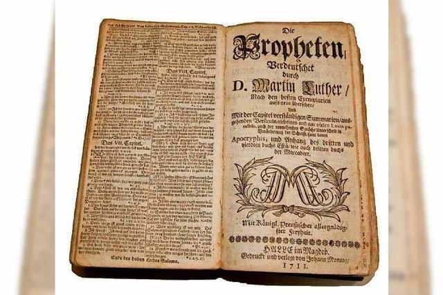 Erschuf Martin Luther die moderne deutsche Sprache?