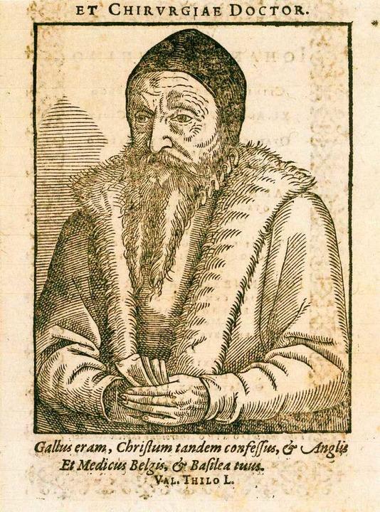 Wird in seiner Jugend zum Tod durch Ve...auhin, anonymer Holzschnitt, 1567/1600    Foto: -