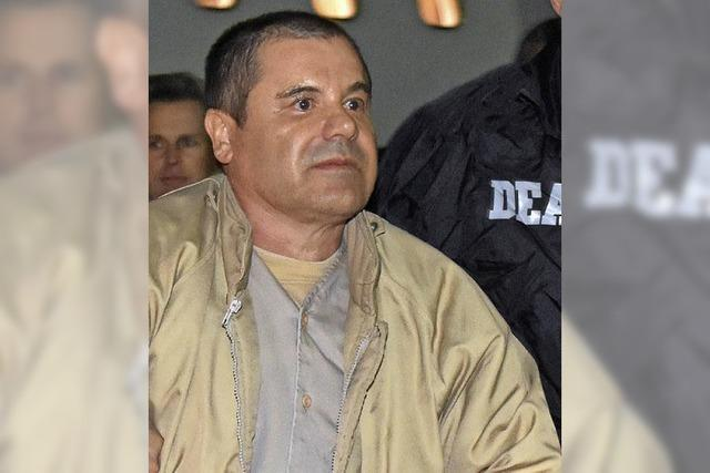 El Chapo droht eine lange Haftstrafe