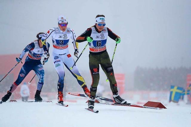 Deutsche Staffel mit Böhler und Ringwald auf Platz zwei