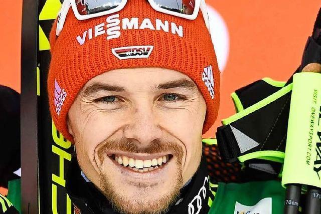 Fabian Rießle feiert seinen zweiten Saisonsieg