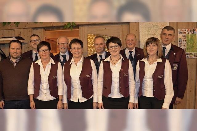 Gesang in fröhlicher Gemeinschaft