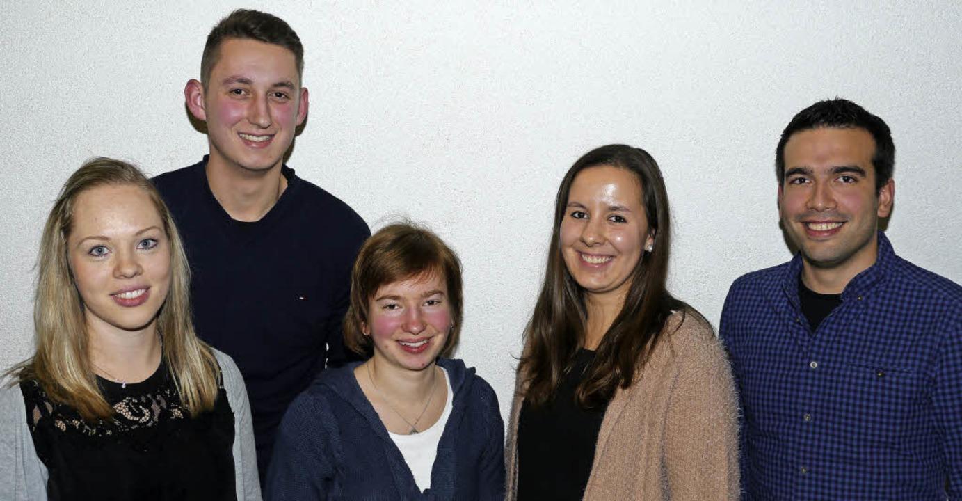 Den Weg frei für eine Verjüngung im Vo...zler, Laura Meier und Otto Mattmüller.  | Foto: Christel Hülter-Hassler