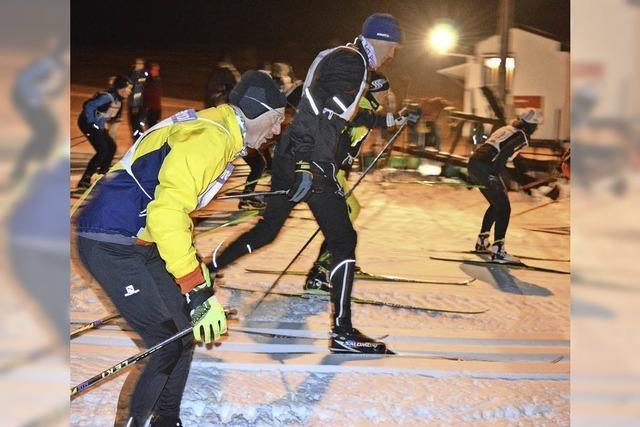 Eiseskälte zwang Langläufer zu kurzen Pausen