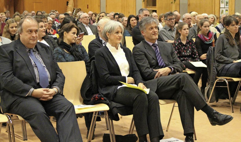 Bürgermeister Gunther Braun fand  in s...eue  Hauptamtsleiter Carsten Edinger.   | Foto: Bertsch