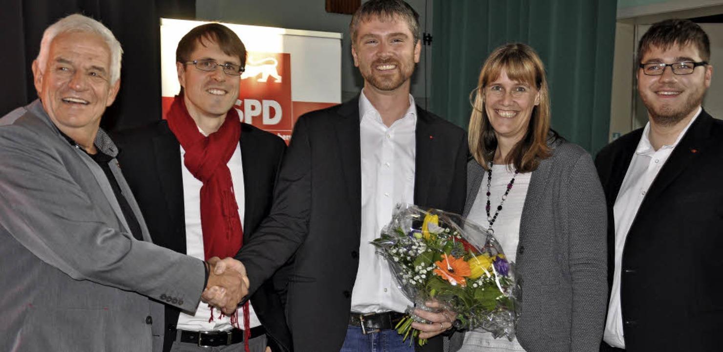 In der Delegiertenkonferenz der SPD wu...-Hochscharzwald Birte Könnecke (v.r.).  | Foto: Jutta Schütz