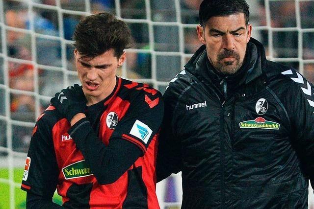 Pascal Stenzel vom SC Freiburg fällt sechs Wochen aus
