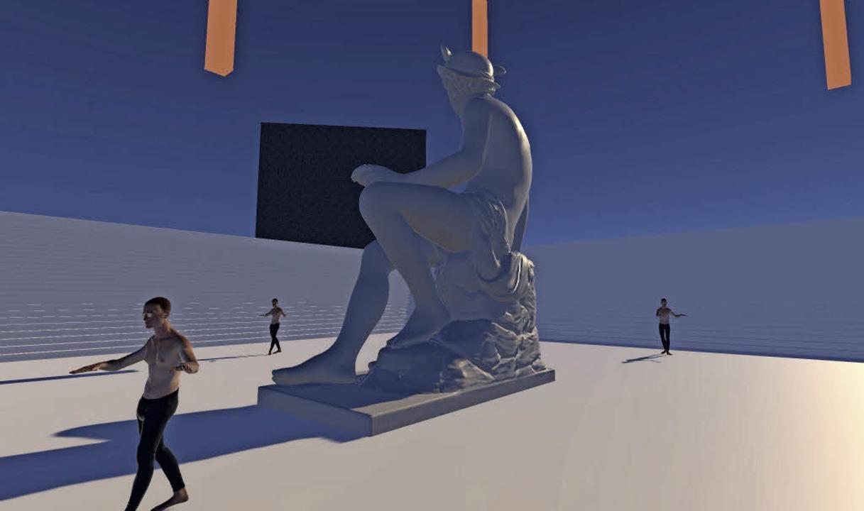 Im Haus der elektronischen Künste in B...ury von Banz & Bowinkel zu sehen.     Foto: Screenshot